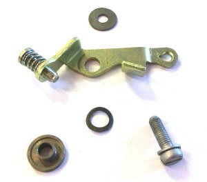 NOS Fast idle Lever assy - fast idle screw and spring - bar