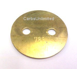 Throttle plate 40mm