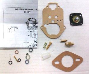 Rebuild Kit fits Weber 34 ICT 34 ICH
