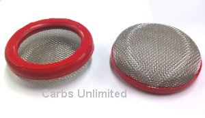 Velocity Stack Filters 2.50 / 64mm Red