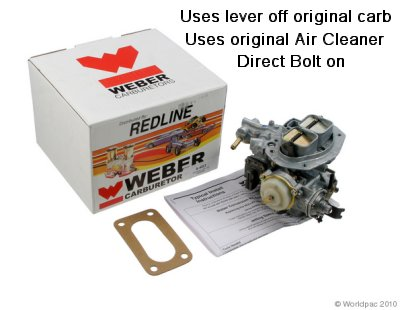 Chevy / Ford / Dodge Weber carb Replacement