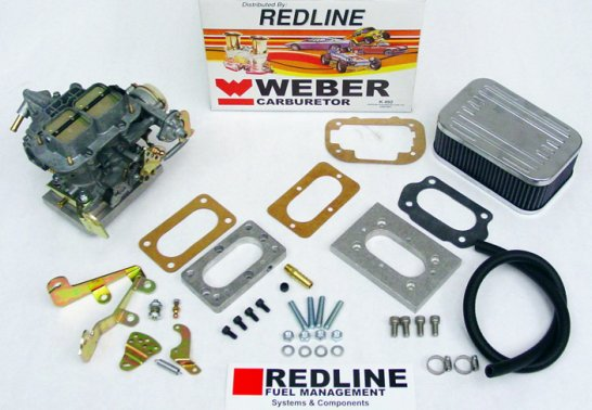 Weber carb conversion kit 38mm