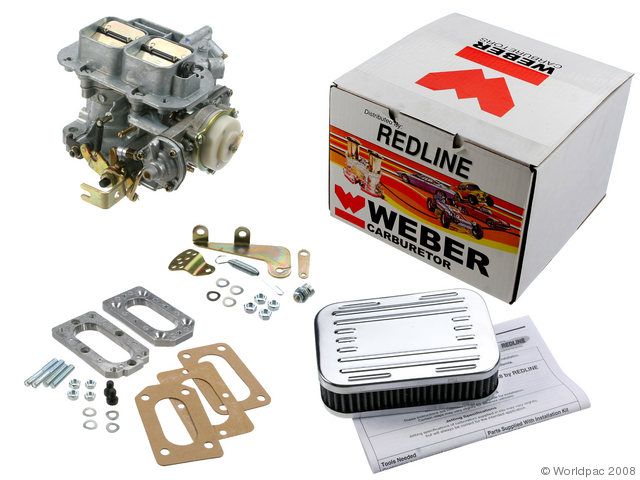 Redline conversion kit with Weber carb