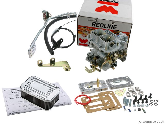 Land Cruiser Weber Carb Conversion. Kit