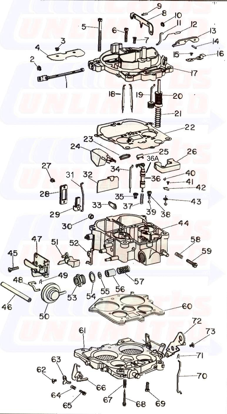Used Quadrajet Parts